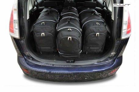 Mazda 5 Minivan van 2005 tot 2010 | 4 auto tassen | Kjust reistassen