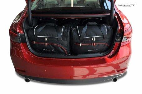 Mazda 6 Sedan vanaf 2012 | 5 auto tassen | Kjust reistassen