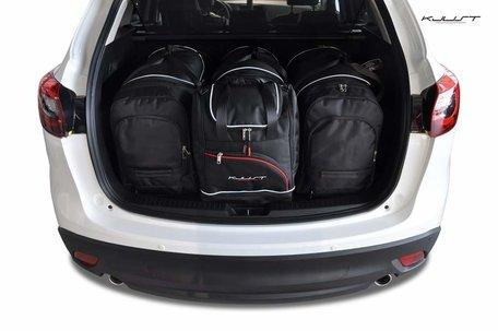 Mazda CX-5 van 2011 tot 2017 | 4 auto tassen | Kjust reistassen