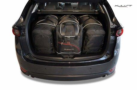 Mazda CX-5 vanaf 2017 | 4 auto tassen | Kjust reistassen