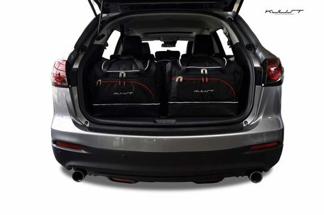 Mazda CX-9 vanaf 2006 | 5 auto tassen | Kjust reistassen