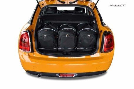 Mini Cooper vanaf 2013 | 3 auto tassen | Kjust reistassen
