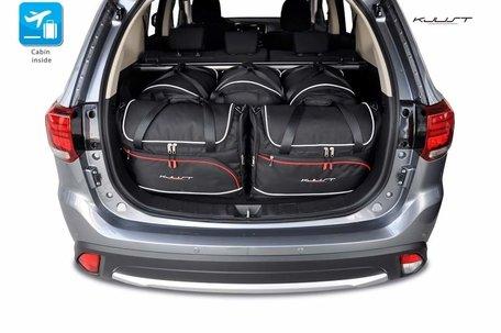 Mitsubishi Outlander vanaf 2012 | 5 auto tassen | Kjust reistassen
