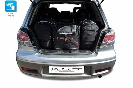 Mitsubishi Outlander van 2001 tot 2006 | 5 auto tassen | Kjust reistassen