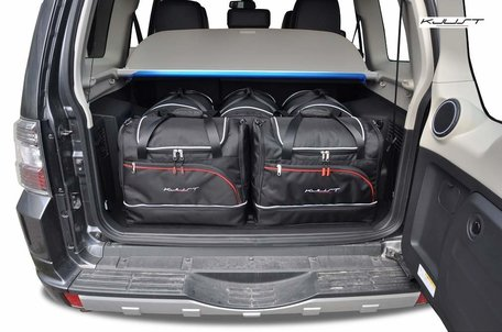 Mitsubishi Pajero vanaf 2006 | 5 auto tassen | Kjust reistassen