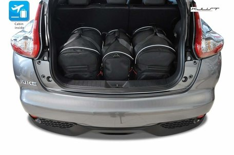 Nissan Juke vanaf 2010 | 3 auto tassen | Kjust reistassen