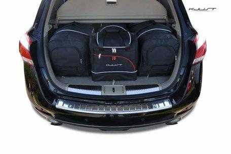 Nissan Murano vanaf 2008 | 4 auto tassen | Kjust reistassen