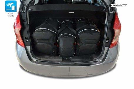 Nissan Pulsar vanaf 2014 | 4 auto tassen | Kjust reistassen