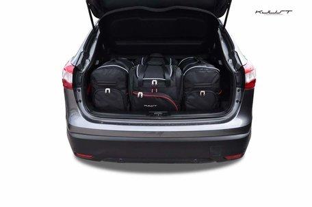 Nissan Qashqai vanaf 2014 | 4 auto tassen | Kjust reistassen