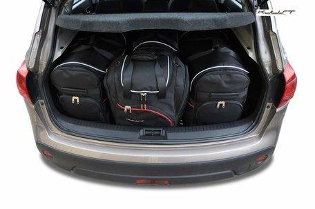Nissan Qashqai van 2007 tot 2014 | 4 auto tassen | Kjust reistassen