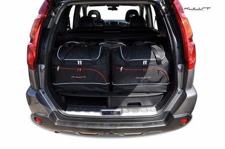 Nissan X-Trail van 2007 tot 2014 | 5 auto tassen | Kjust reistassen