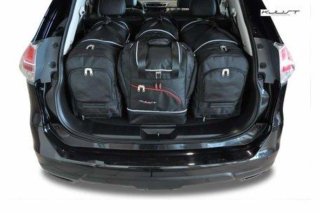 Nissan X-Trail vanaf 2014 | 4 auto tassen | Kjust reistassen