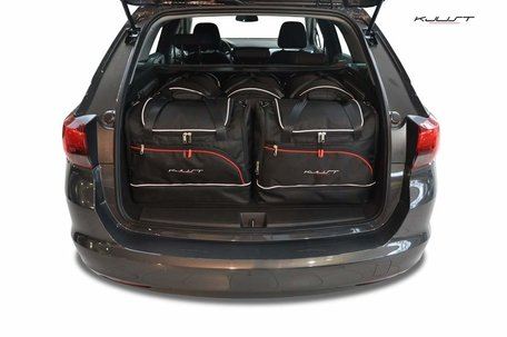 Opel Astra Tourer vanaf 2015   5 autotassen   Kjust reistassen