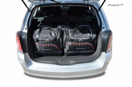 Opel Astra Tourer van 2004 tot 2013   5 autotassen   Kjust reistassen