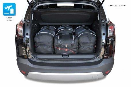 Opel Crossland X vanaf 2017   4 autotassen   Kjust reistassen