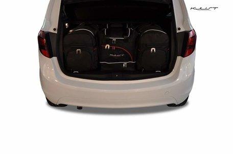 Opel Meriva vanaf 2010   4 auto tassen   Kjust reistassen