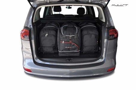 Opel Zafira vanaf 2011 | 4 auto tassen | Kjust reistassen