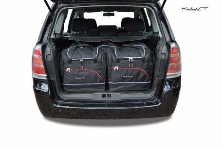 Opel Zafira van 2005 tot 2010 | 5 auto tassen | Kjust reistassen