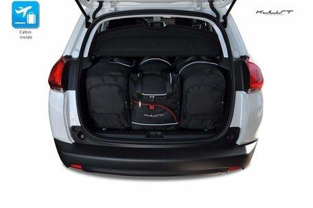 Peugeot 2008 vanaf 2013   4 auto tassen   Kjust reistassen