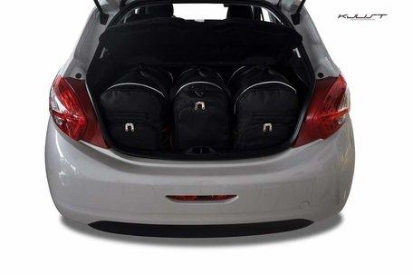 Peugeot 208 Hatchback vanaf 2012   3 autotassen   Kjust reistassen