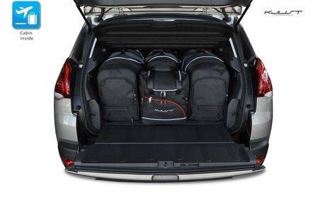 Peugeot 3008 van 2009 tot 2016   4 auto tassen   Kjust reistassen