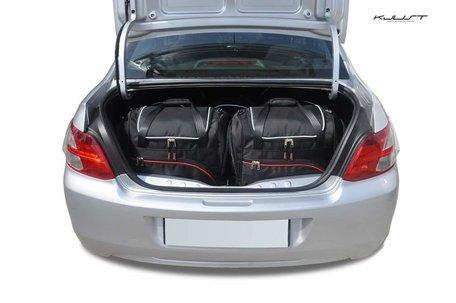 Peugeot 301 vanaf 2012   5 auto tassen   Kjust reistassen