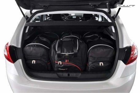 Peugeot 308 Hatchback vanaf 2013   4 auto tassen   Kjust reistassen