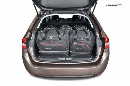 Peugeot 308 SW vanaf 2013   5 auto tassen   Kjust reistassen
