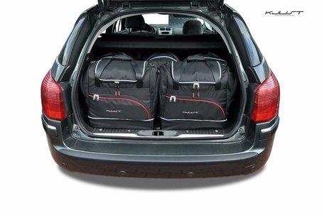 Peugeot 407 SW van 2004 tot 2011   5 autotassen   Kjust reistassen