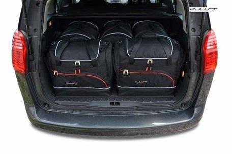 Peugeot 5008 van 2009 tot 2016   5 auto tassen   Kjust reistassen