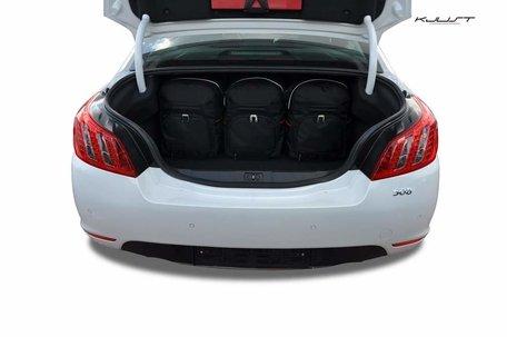 Peugeot 508 Sedan vanaf 2011   5 autotassen   Kjust reistassen