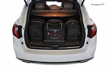 Porsche Cayenne vanaf 2010 | 4 auto tassen | Kjust reistassen