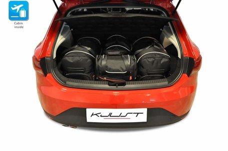 Seat Leon Hatchback vanaf 2013 | 4 autotassen | Kjust reistassen