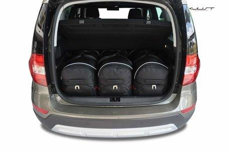 Skoda Yeti Outdoor vanaf 2009 | 3 autotassen | Kjust reistassen
