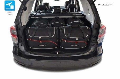 Subaru Forester vanaf 2013 | 5 auto tassen | Kjust reistassen