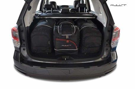 Subaru Forester vanaf 2013 | 4 auto tassen | Kjust reistassen