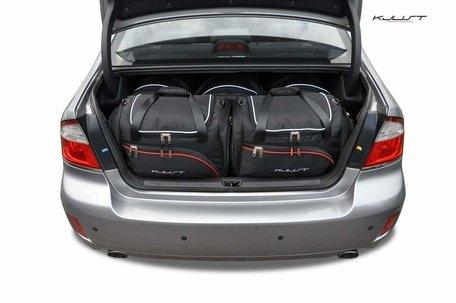 Subaru Legacy Sedan van 2003 tot 2009 | 5 autotassen | Kjust reistassen