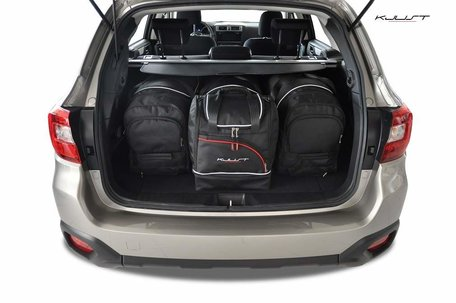 Subaru Outback vanaf 2015 | 4 auto tassen | Kjust reistassen