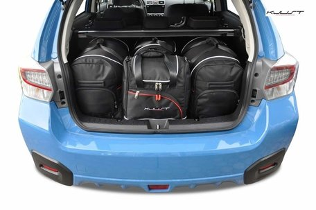 Subaru XV vanaf 2012 | 4 auto tassen | Kjust reistassen