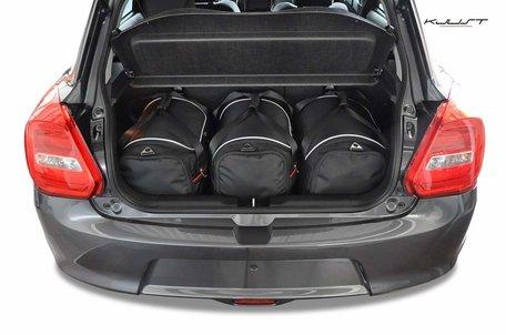 Suzuki Swift vanaf 2017 | 3 auto tassen | Kjust reistassen