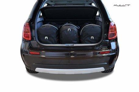 Suzuki SX4 vanaf 2013 | 3 auto tassen | Kjust reistassen