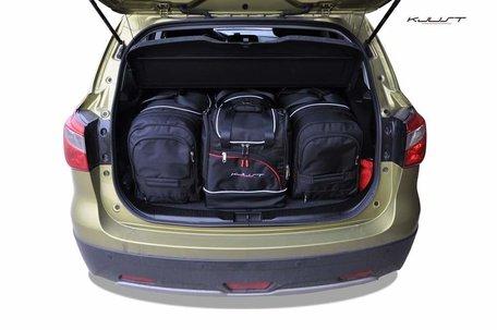 Suzuki SX4 Cross vanaf 2013 | 4 auto tassen | Kjust reistassen