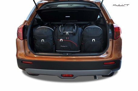 Suzuki Vitara vanaf 2015 | 4 auto tassen | Kjust reistassen
