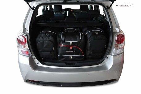 Toyota Verso vanaf 2009 | 4 auto tassen | Kjust reistassen