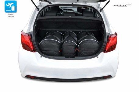 Toyota Yaris vanaf 2011 | 3 autotassen | Kjust reistassen