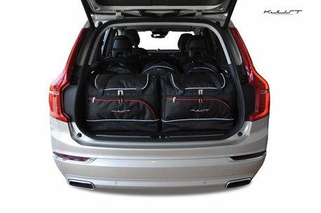 Volvo XC90 vanaf 2014 | 5 auto tassen | Kjust reistassen