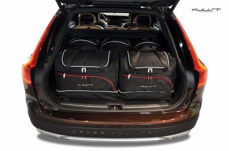 Volvo V90 vanaf 2016 | 5 auto tassen | Kjust reistassen