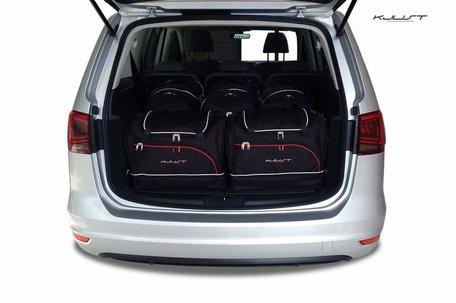 Volkswagen Sharan vanaf 2010 | 5 auto tassen | Kjust reistassen