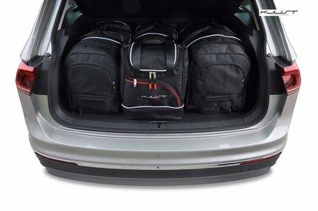 Volkswagen Tiguan vanaf 2016 | 4 auto tassen | Kjust reistassen
