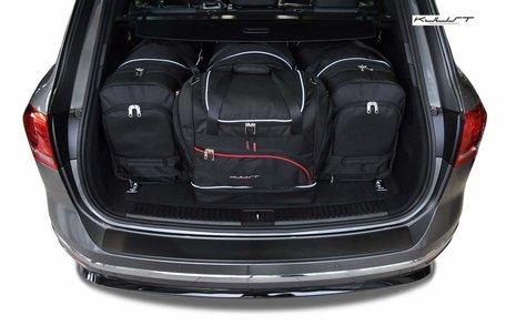 Volkswagen Touareg vanaf 2010 | 4 auto tassen | Kjust reistassen